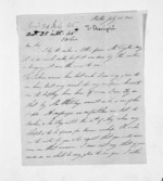 2 pages written 21 Jul 1845 by John Skevington to Sir Donald McLean in New Plymouth District, from Inward letters - Surnames, Sin - Sma