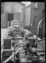 Engine of Rail Motor No. 3, Thomas Transmission Car, 1916