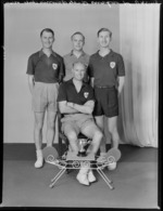 Trojans Table Tennis Club members
