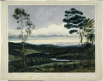 Heaphy, Charles  1820-1881 :View in the valley of the Nairne Port Wakefield in the distance.  [1840]