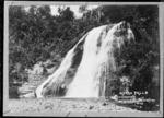 Mokau Falls, Lake Waikaremoana - Photograph taken by John William McDougall