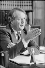Mr Bill Rowling, Leader of the Opposition - Photograph taken by John Nicholson