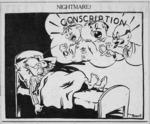 Garratt, Henry Thomas, 1875-1953 :Nightmare! Otago Daily Times, 25 May 1940.