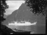 Ship Matai in Beechy Harbour, Preservation Inlet