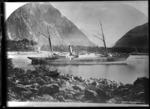 The ship Stella in Milford Sound