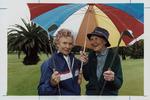 Veteran golfers Lillian Sime, and Audrey Simmons, Hutt Golf Club, Lower Hutt