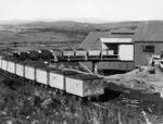Railway wagons of coal, Huntly
