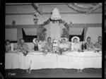 Butson and Green wedding breakfast, New Zealand General Hospital, New Caledonia, during World War 2