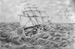 [Hilliard, George Richard]  b 1801 :[The Lady Nugent on the high seas]  1840