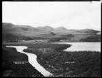 Waitamoumou Lake on Darrows Station, Te Akau, near Raglan, 1910 - Photograph taken by Gilmour Brothers