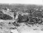 Advanced dressing station in German Second Lines during the Battle of Messines, Belgium