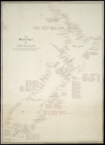 Halse, Frederick James, d 1936: Index wreck chart of New Zealand [ms map]. Showing total loss of vessels, compiled from official and other sources, Compiled & drawn by F. J. Halse, Wadestown, [1935?]