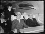 TEAL's inaugural Wellington to Sydney flight