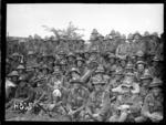 A New Zealand battalion after the Battle of Messines, World War I
