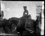 The New Zealand Divisional Commander and the judge at the Division horse show, World War I