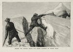 The Graphic, London :The first ascent of Mount Cook, New Zealand. Among the seracs above the great plateau of Mount Cook. [London]  1882