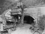 Wainuiomata Tunnel under construction, Lower Hutt, Wellington