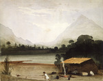 [Fox, William]  1812-1893 :In the Aglionby or Matukituki Valley, looking into the Otapawa.  20th Feb. [1846]
