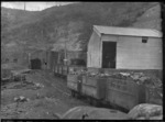 Area around mine entrance, Mt Massey, Waipa Coal Company