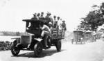 New Zealand marines transporting Mau prisoners