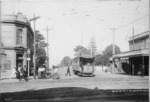 Looking down Khyber Pass from Symonds Street, Auckland