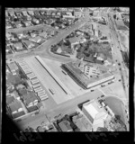Aerial view of Lower Hutt City Bus Terminal