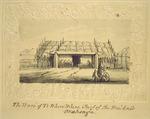[Johnson, John], 1794-1848 :[The Hobson album]. The ware of Te Whero Whero, chief of the Waikato, Onahonga. [1843].
