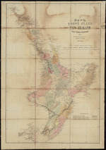 Map of the North Island