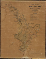 Sketch map of the North Island