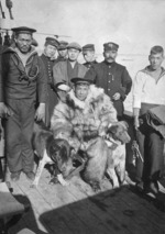 Members of the Japanese expedition to Antarctica