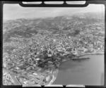 Wellington City centre and harbour