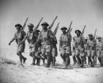 Maori Battalion training at Maadi, Egypt