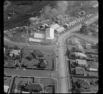 Mt Roskill/Onehunga area, Auckland, including houses and a [sawmill ?]