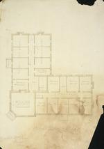 Beatson, William, 1808?-1870 :Mr Wm Jones, Oamaru, Otago. One pair plan. No 2 / Wm B[eatson, architect. Jan. 1863].