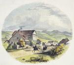 [Brees, Samuel Charles]  1810-1865 :Wesleyan Mission premises, Wellington, New Zealand  [Engraved by] E Whimper [London]  1852
