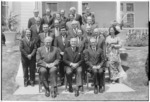 Governor General Denis Blundell with Labour Prime Minister Norman Kirk and members of his Cabinet