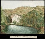 Artist unknown :Natural Bridge, Okoroire. May 1900.