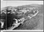 Bragge, James, 1833?-1908 :Part 3 of a 3 part panorama of Thorndon, Wellington