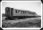 Passenger carriage AA 1746 at Otahuhu railway workshop