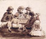 Pearse, John, 1808-1882 :Juvenile chess players. [1851]