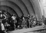 Maori group performing, Centennial Exhibition, Wellington