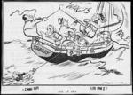 Minhinnick, Gordon (Sir), 1902-1992 :All at sea. 2 March 1971.