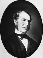 Head and shoulders portrait of William Thomas Locke Travers
