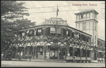 [Postcard]. Greeting from Samoa. Tivoli-Hotel (Ch Roberts). A Tattersall, photo, Apia, Samoa. [Number] 2695 [1909]