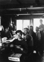 Prisoners of war inside Stalag 383, Hohenfels, Bavaria, Germany