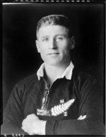 M J Brownlie, Captain of the All Blacks, New Zealand representative rugby team  to South Africa,1928