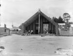 Pringle, Thomas, 1858-1931 :[Tamatekapua meeting house, Ohinemutu]