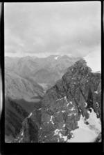 Mountains, near Lyell Glacier, Southern Alps, Canterbury Region