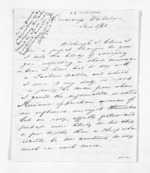 4 pages written 5 Jun 1861 by Richard B Underwood in Waikato Region to Sir Donald McLean, from Inward letters - Surnames, Und - Viv