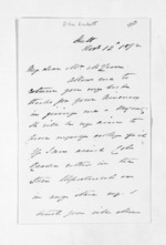 4 pages written 12 Nov 1872 by Captain John Lockett to Sir Donald McLean, from Inward letters - Surnames, Loc - Log